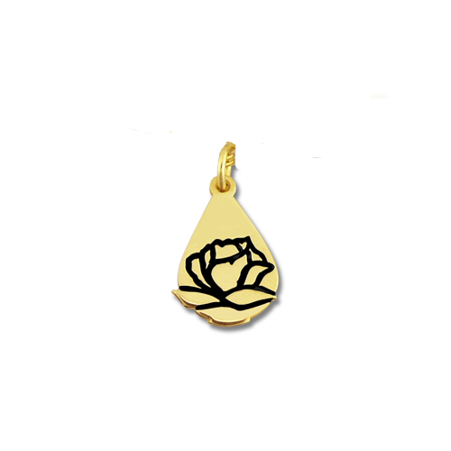 Memorial Tear® 10K Gold Charm Only