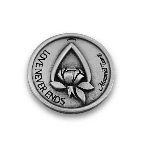 Memorial Tear® Pewter Pocket Token