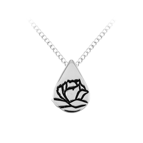 Memorial Tear® Sterling Silver Pendant
