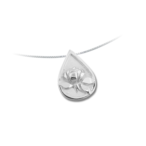 Teardrop Memorial® Sterling Silver Pendant