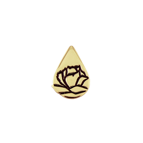 Memorial Tear® 10K Lapel Pin