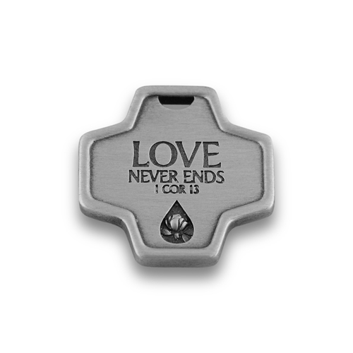 Memorial Tear® Pewter Pocket Cross
