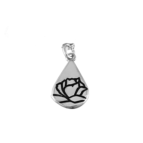 Memorial Tear® Sterling Silver Charm only