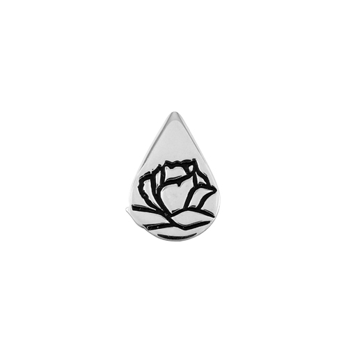 Memorial Tear® Sterling Silver Lapel Pin